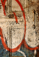 Porte peinte / Painted door